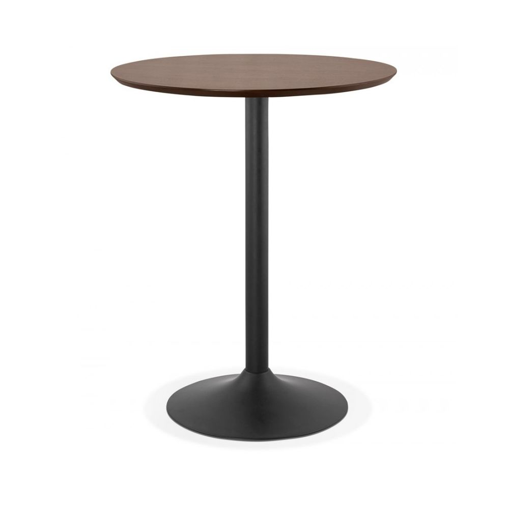 Kokoon Design Table bar design PINCHO WALNUT 90x90x110 cm