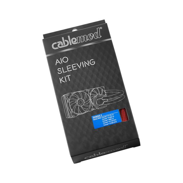 Câble tuning PC AIO Sleeving Kit Series 1 - Rouge
