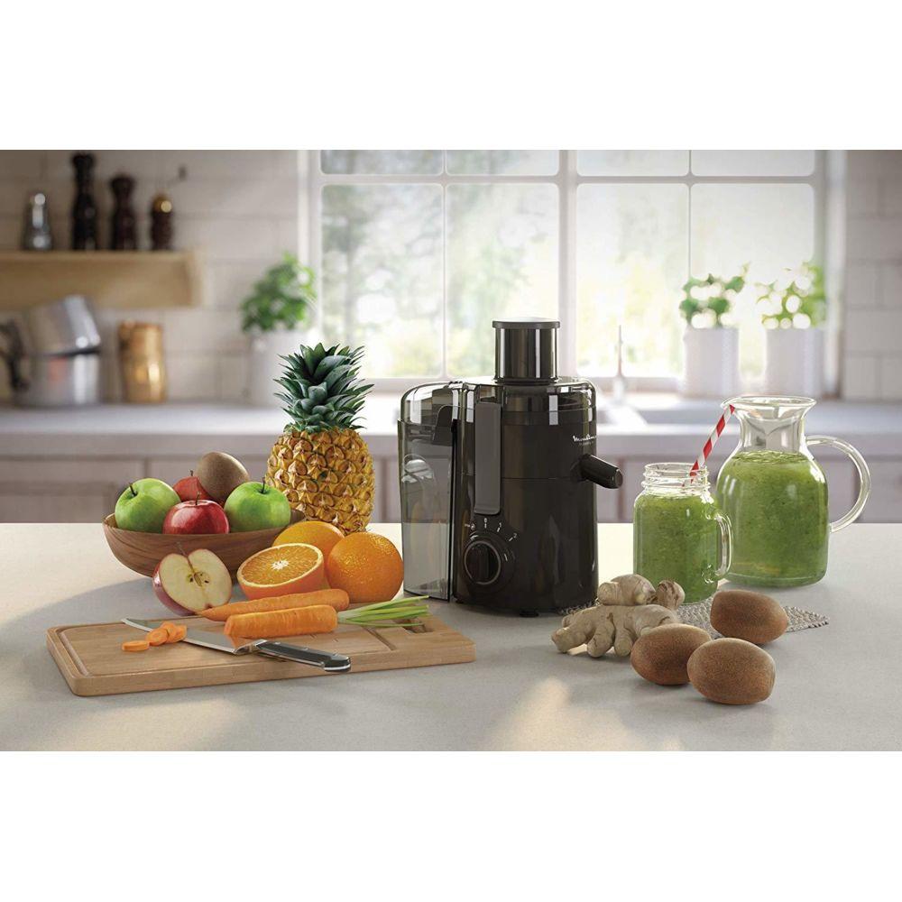 Moulinex centrifugeuse électrique pour Fruits et Légumes avec 2 vitesses 350W noir