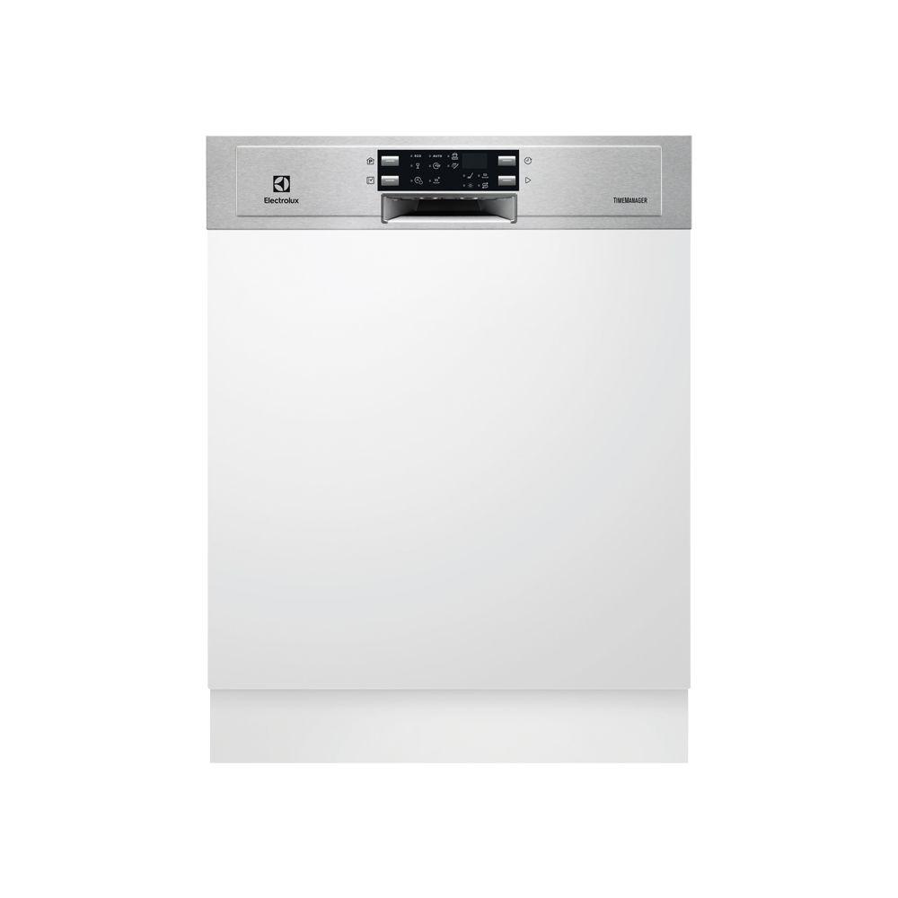 Electrolux electrolux - lave-vaisselle 60cm 13c 44db a++ intégrable avec bandeau inox - esi5543lox
