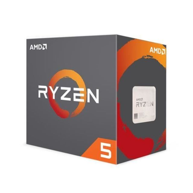 Amd - Ryzen 5 2600 Wraith Stealth Edition - 3,4/3,9 GHz - Composants
