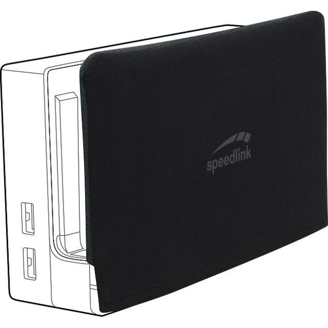 Speedlink - Protection pour Nintendo Switch - Noir - Speedlink