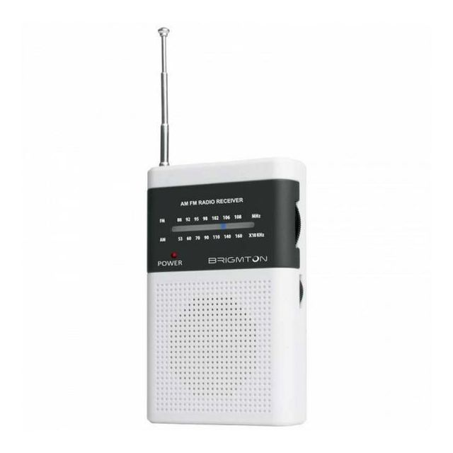 Totalcadeau - Radio transistor Blanc - Tablette tactile