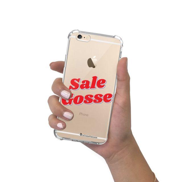La Coque Francaise - Coque iPhone 6/6S anti-choc souple avec angles renforcés transparente Sale gosse rouge La Coque Francaise