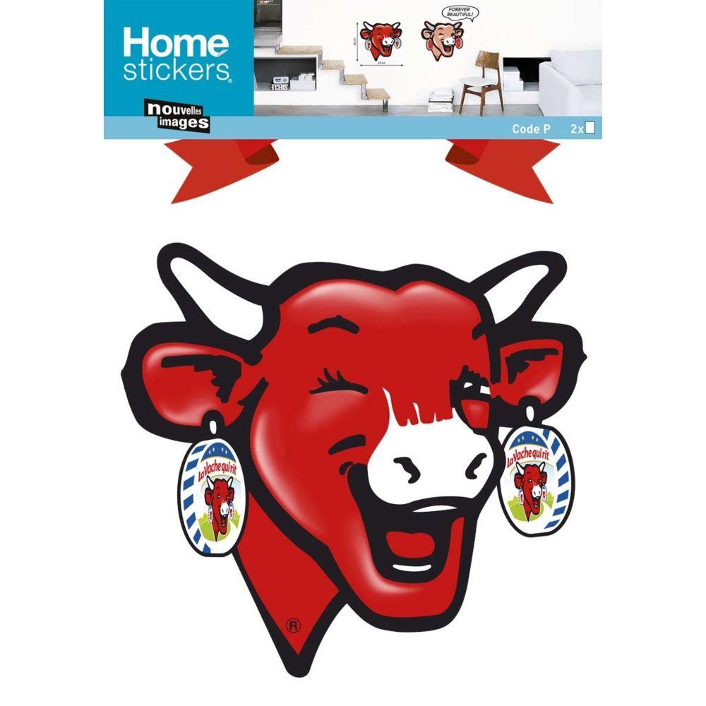 Nouvelles Images Sticker mural La Vache qui rit forever