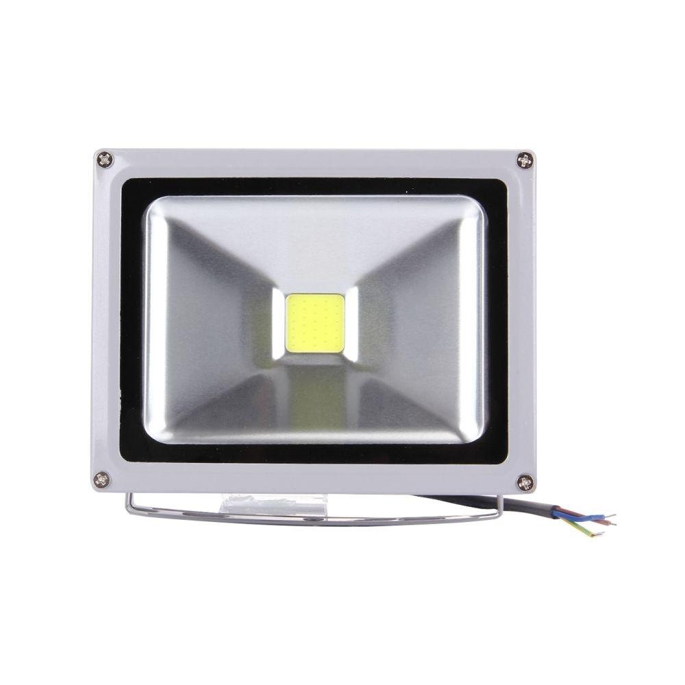 Wewoo Projecteur LED 20W 1600-1800LM haute puissance IP65 étanche lampe de projecteur, AC 85-265V, prise de l'UE lumière blanc