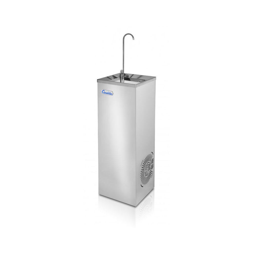 Materiel Chr Pro Fontaine à Eau Col de Cygne - Avec ou Sans Pédale - Canaletas - Jet eau fraîche par bouton poussoir