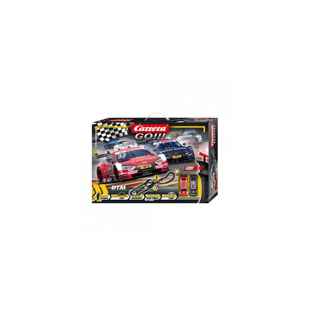 carrera Circuit voitures Coffret DTM Power - Dès 6 ans - Carrera GO!!! 62479