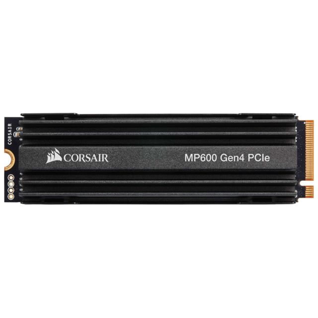 Corsair - Force MP600 500 Go - M.2 2280 NVMe PCIe Gen4 x4 (2.5 Gb/s) - Disque SSD M.2