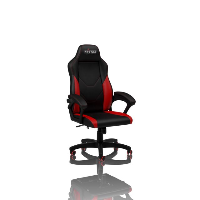 Nitro Concepts - C100 Noir/Rouge - Chaise gamer