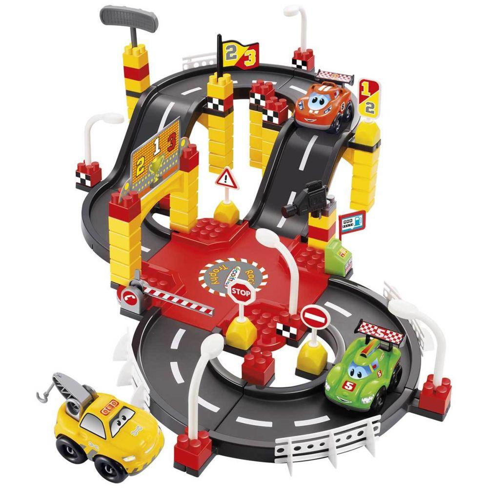 Ecoiffier Circuit Racing Fast Car - Abrick