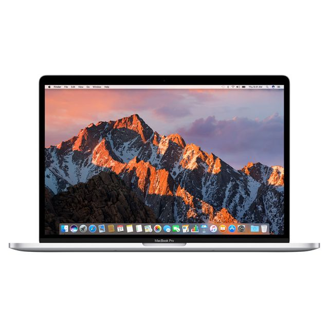 Apple - MacBook Pro 15 Touch Bar - 512 Go - MLW82FN/A - Argent - Ordinateur portable reconditionné