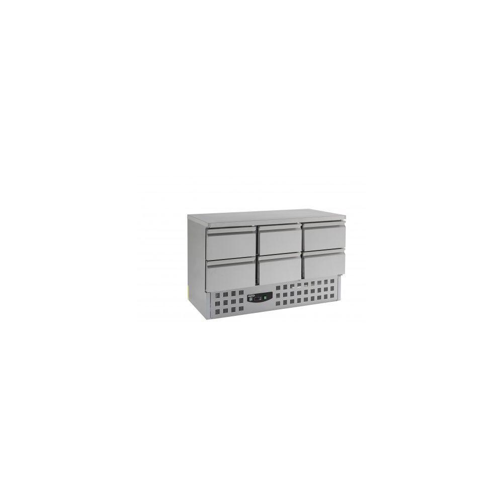 Combisteel Table réfrigérée 700 positive - 6 tiroirs - Combisteel - 700