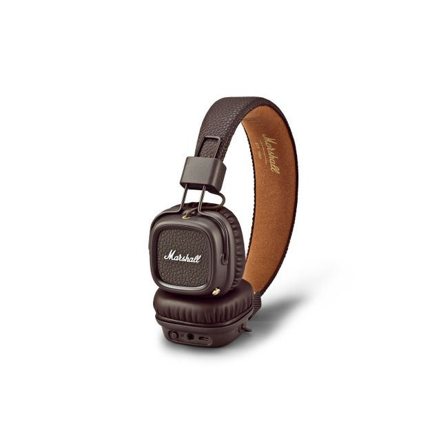 Marshall - CASQUE BLUETOOTH MARRON - MAJOR II - Casque audio