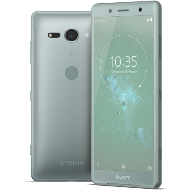Sony - Xperia XZ2  Compact - Vert Sapin - Smartphone 5 pouces
