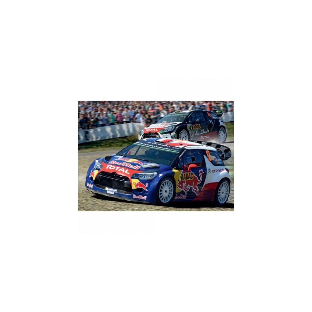 carrera Circuit voitures Coffret Super Rally - Dès 6 ans - Carrera GO!!! 62495
