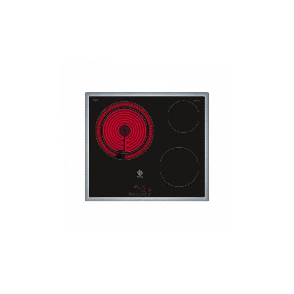 Balay Plaques vitro-céramiques Balay 3EB715XR 5700W 60 cm Noir