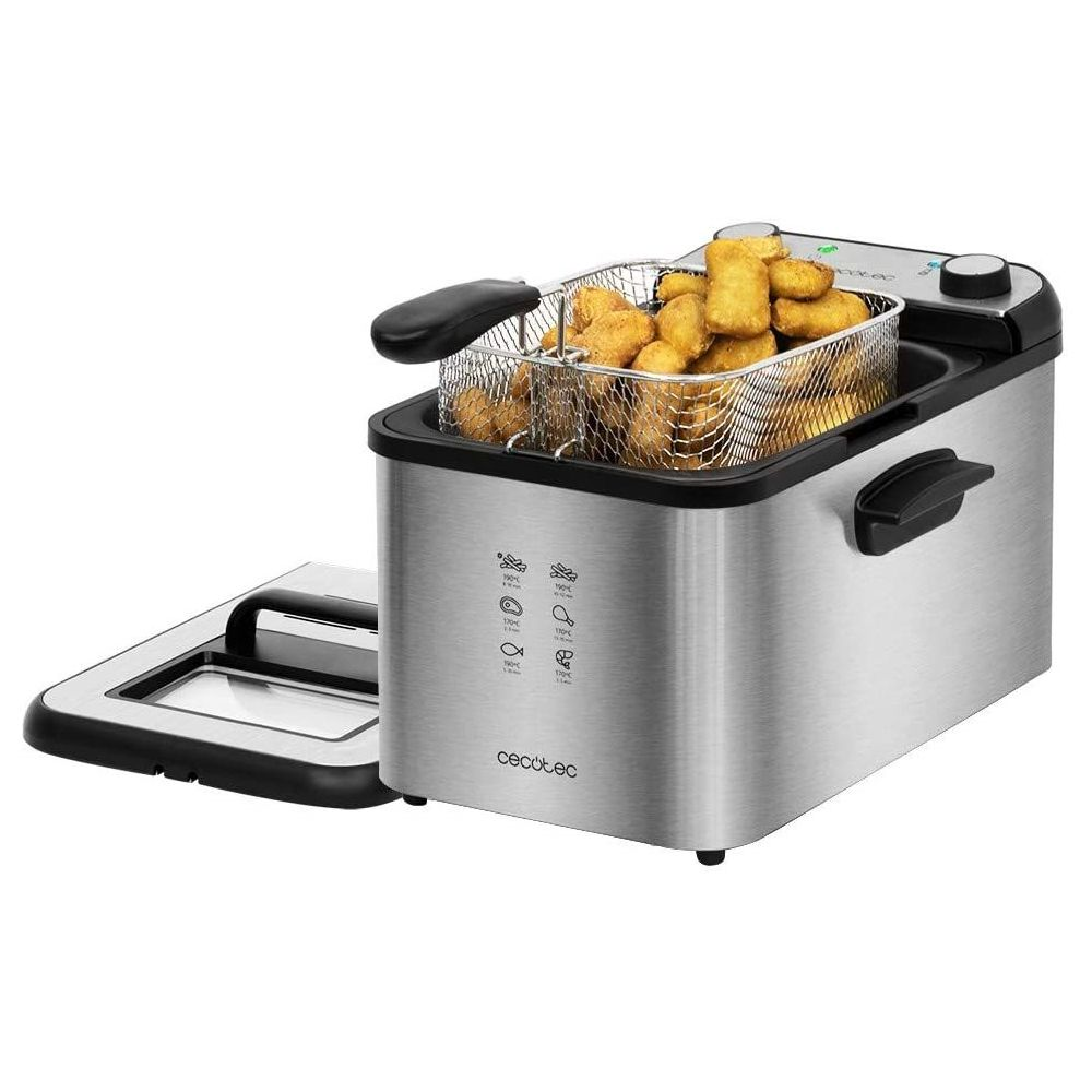 Cecotec Friteuse électrique de 4L 3270W noir gris
