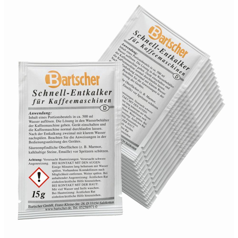 Bartscher Detartrant express machine a cafe