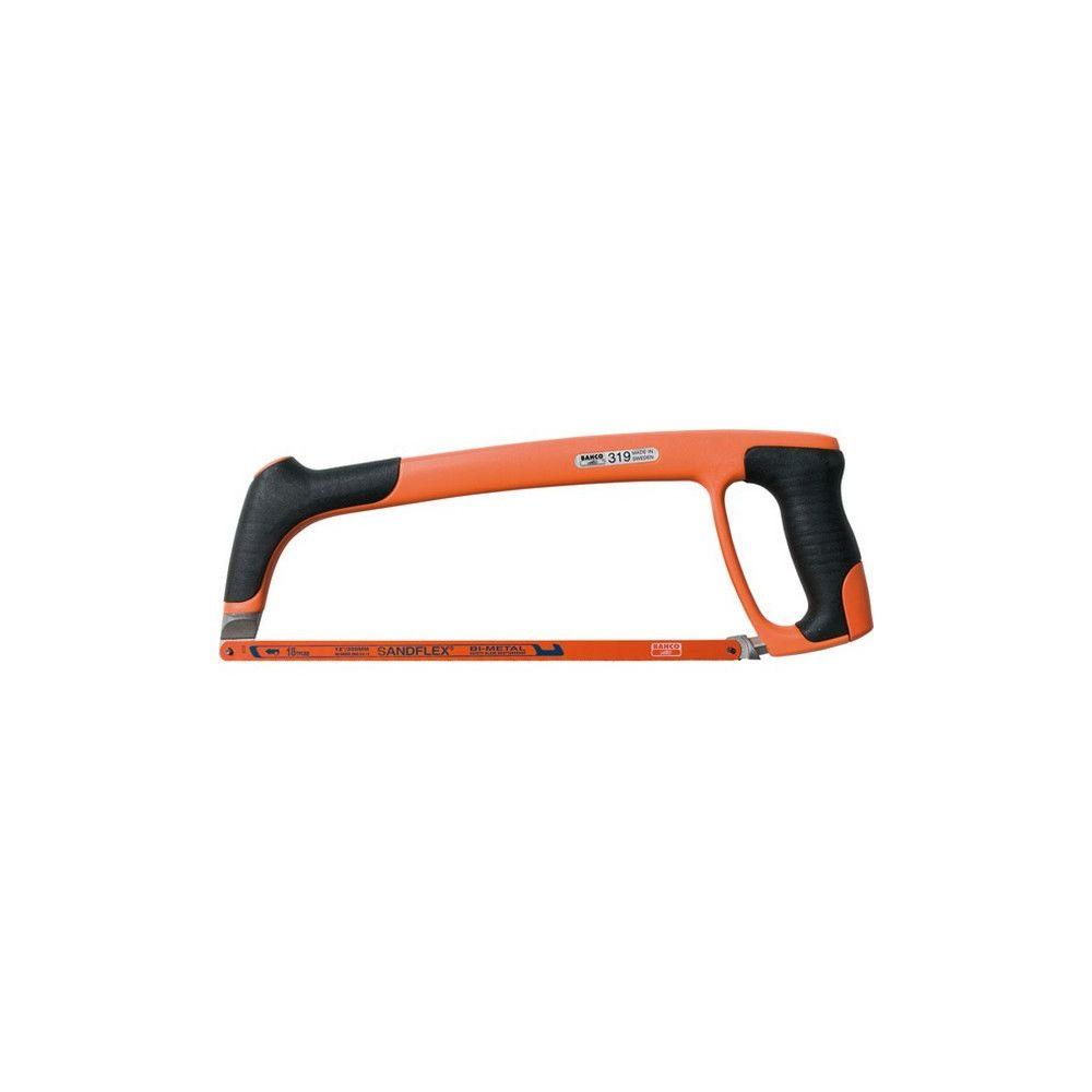 Bahco Monture de scie à métaux en plastique à 2 composants, Long. de la lame : 300 mm