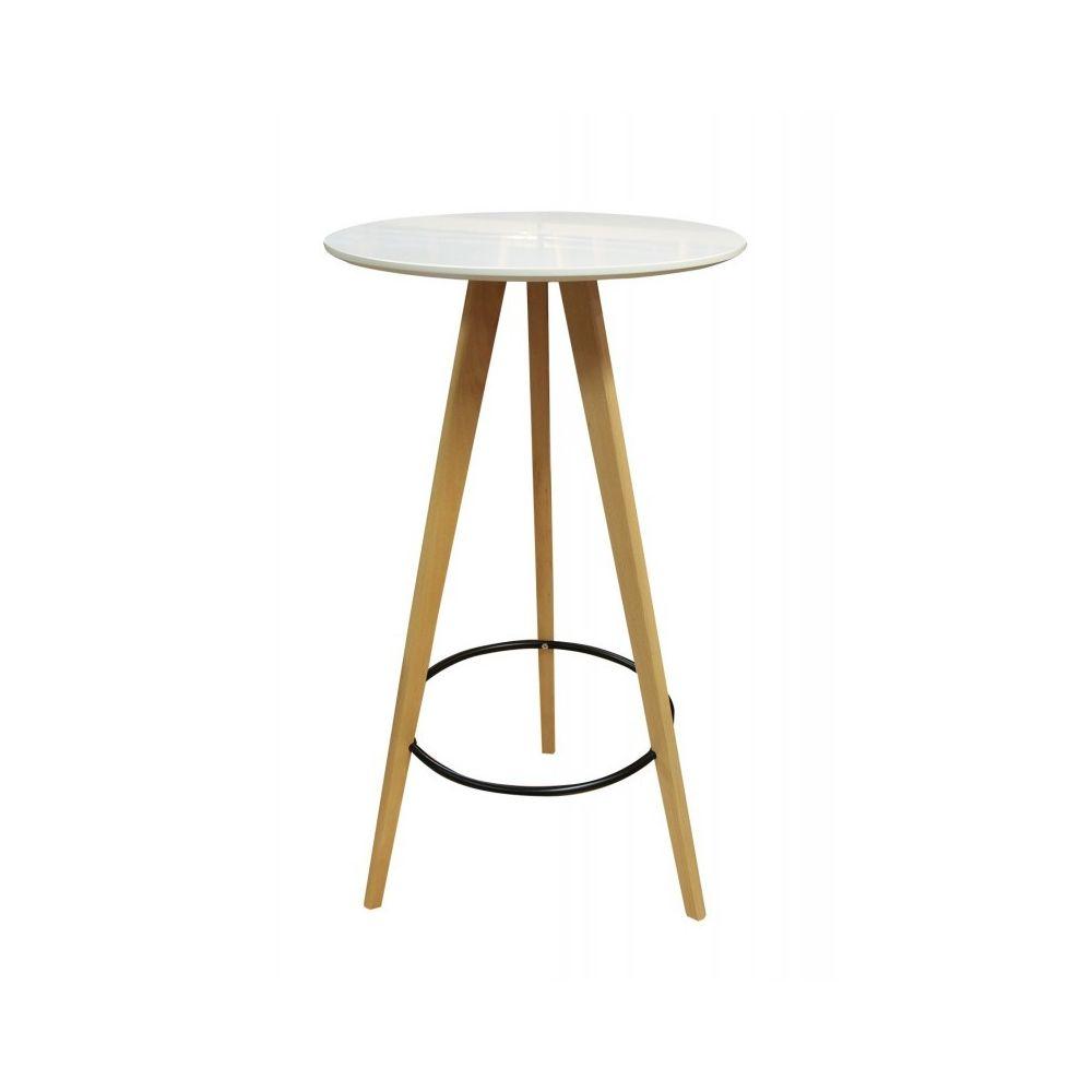 Meubletmoi TABLE haute ronde 60 cm - STOOLY