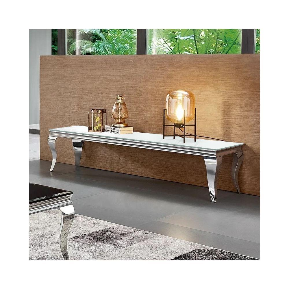 Meubler Design Meuble TV design EMA - Blanc