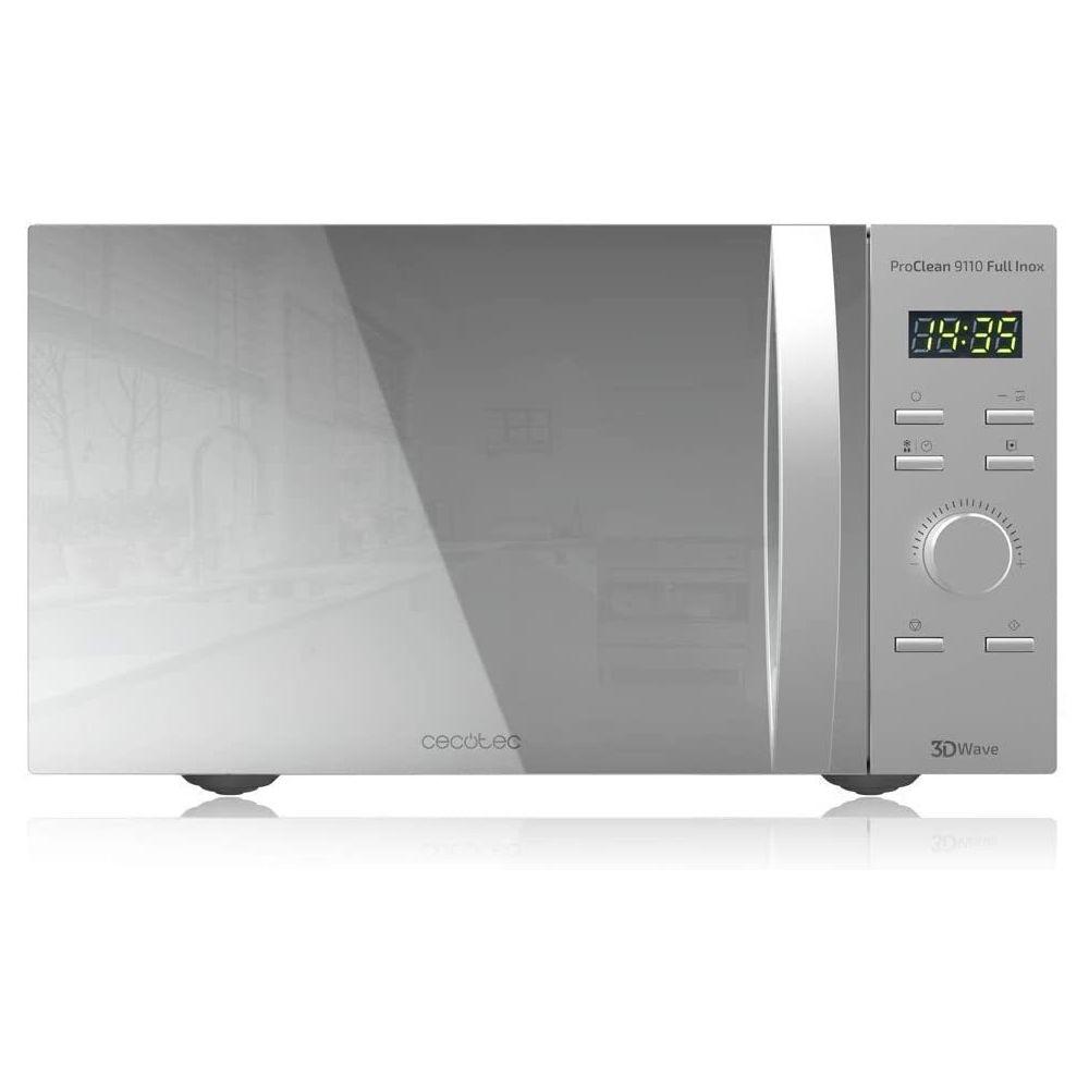 Cecotec Micro-ondes de 30L avec grill et 8 programmes 1000W gris