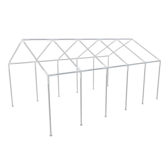 Vidaxl vidaXL Structure de tente chapiteau pavillon 10 x 5 m