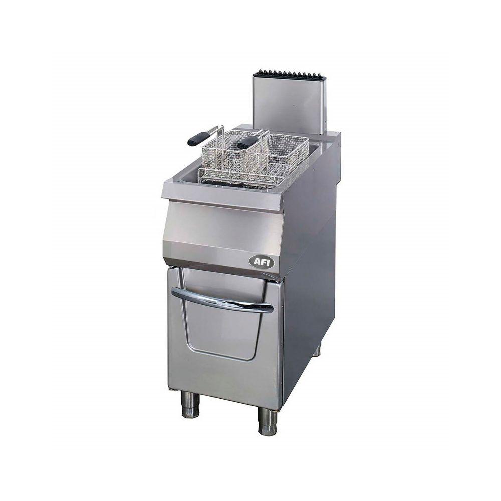 Materiel Chr Pro Friteuse Gaz 1 à 2 cuves 22 L - Série 900 - AFI Collin Lucy - 22 l 900