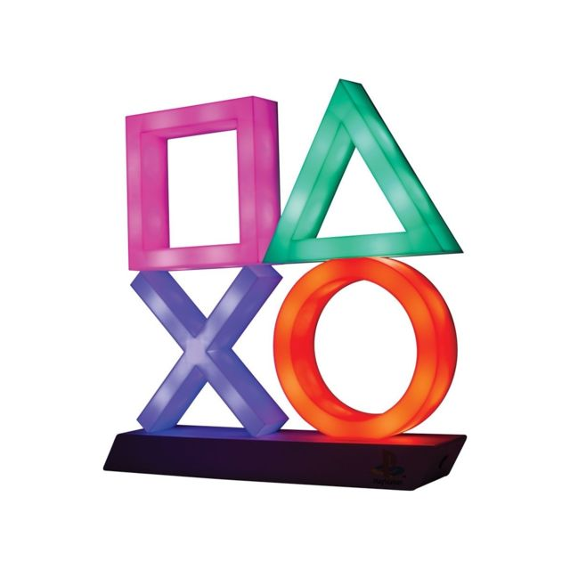Paladone Products - Sony PlayStation - Veilleuse Icons XL - Lampes à poser