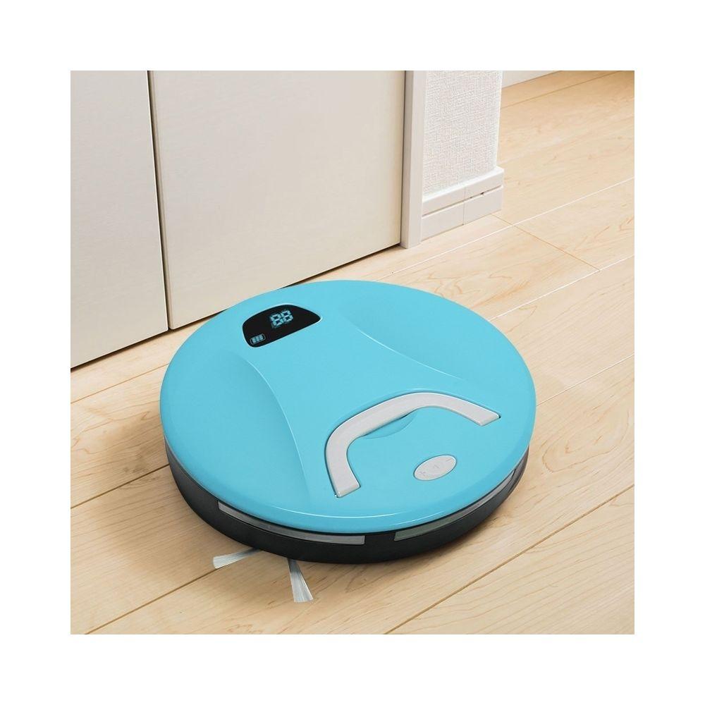 Wewoo Robot Aspirateur FD-RSW B Nettoyeur de Balayeuse de Ménage Intelligent Bleu