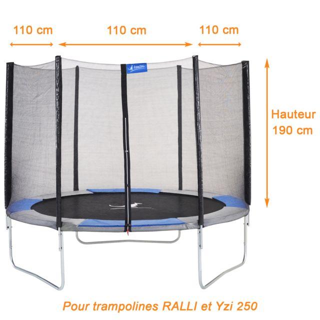 Navigatee Trampoline de Protection Filet Anti-Chute de Haute qualit/é Pad de Saut de s/écurit/é Filet de Protection Garde