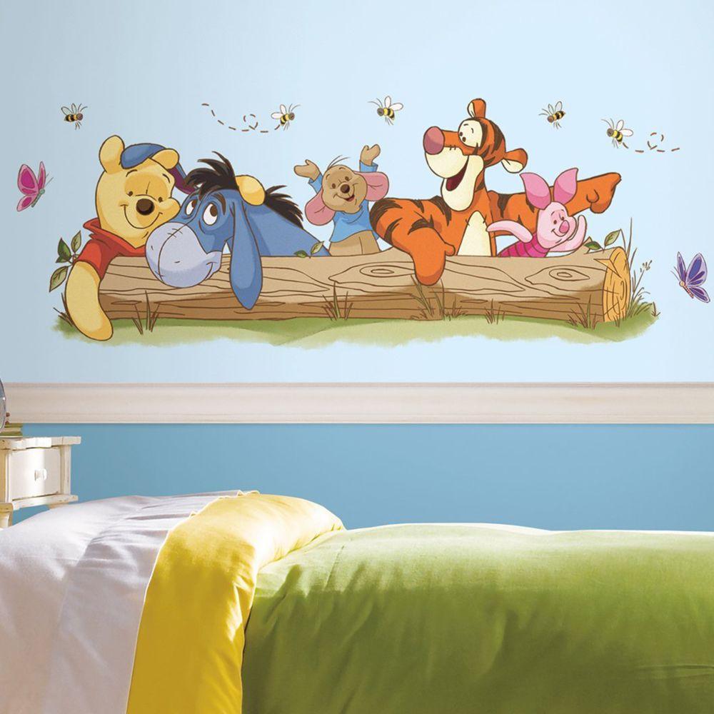 Roommates Stickers géant Winnie l'Ourson et ses amis Disney