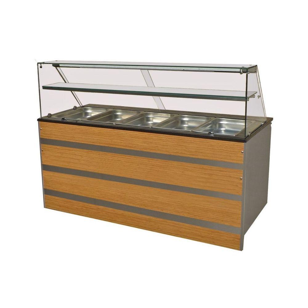 Combisteel Buffet Froid Professionnel - De 3 à 5 GN 1/1 - Combisteel - 1800 mm