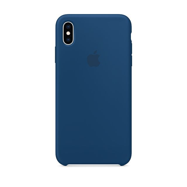 Apple - iPhone XS Max Silicone Case - Bleu horizon Apple   - Accessoire Smartphone Iphone xs max