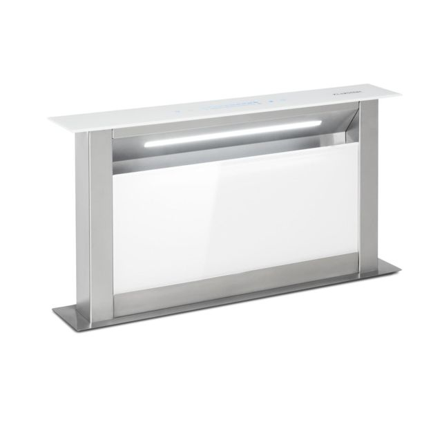 Klarstein - Klarstein Royal Flush 60 Hotte murale aspirante 60 cm - Extraction d'air 458 m³/h - 60dB - Classe A+ - Blanc - Klarstein