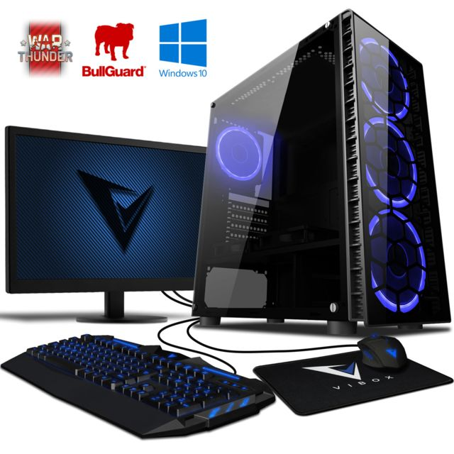 Vibox - Explosion 2 PC Gamer - Ordinateur de Bureau Gaming