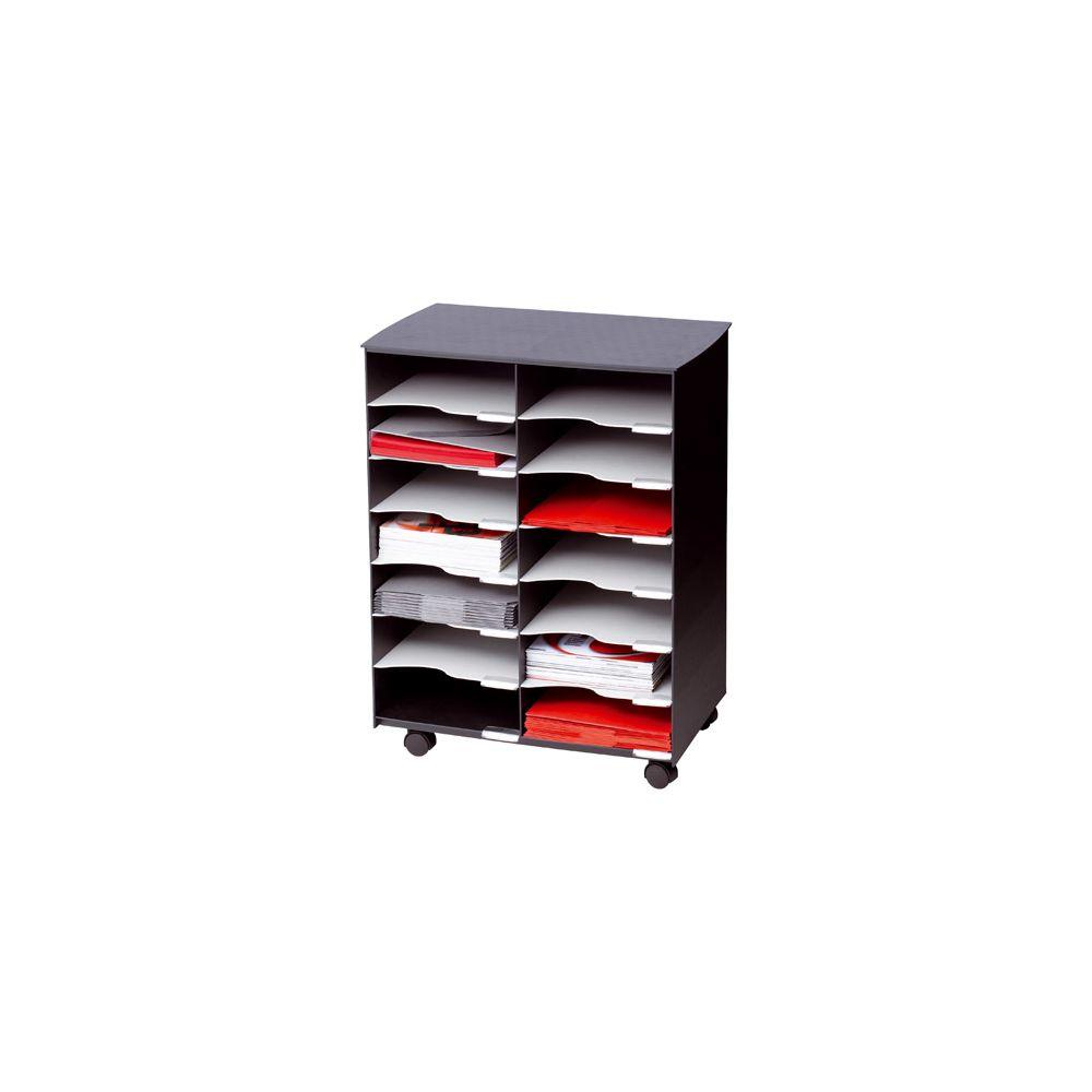 Paperflow Deserte mobile 14 cases noir-gris