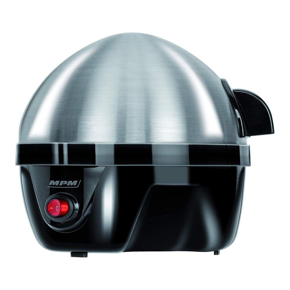 Mpm Cuiseur électrique pour 7 oeufs en acier inoxydable, réglage de la cuisson 350W MPM MGJ-01M