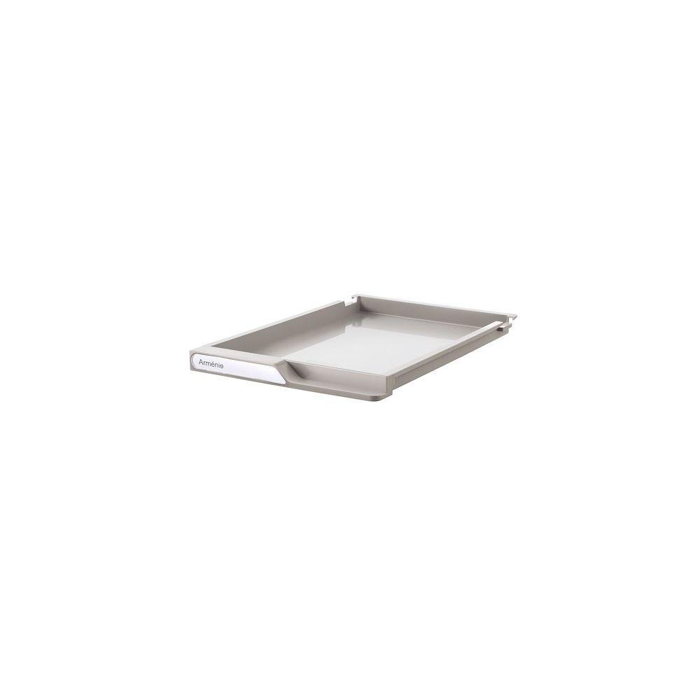 Clen Lot de 18 tiroirs gris pour dessertes colonnes gamme Clen