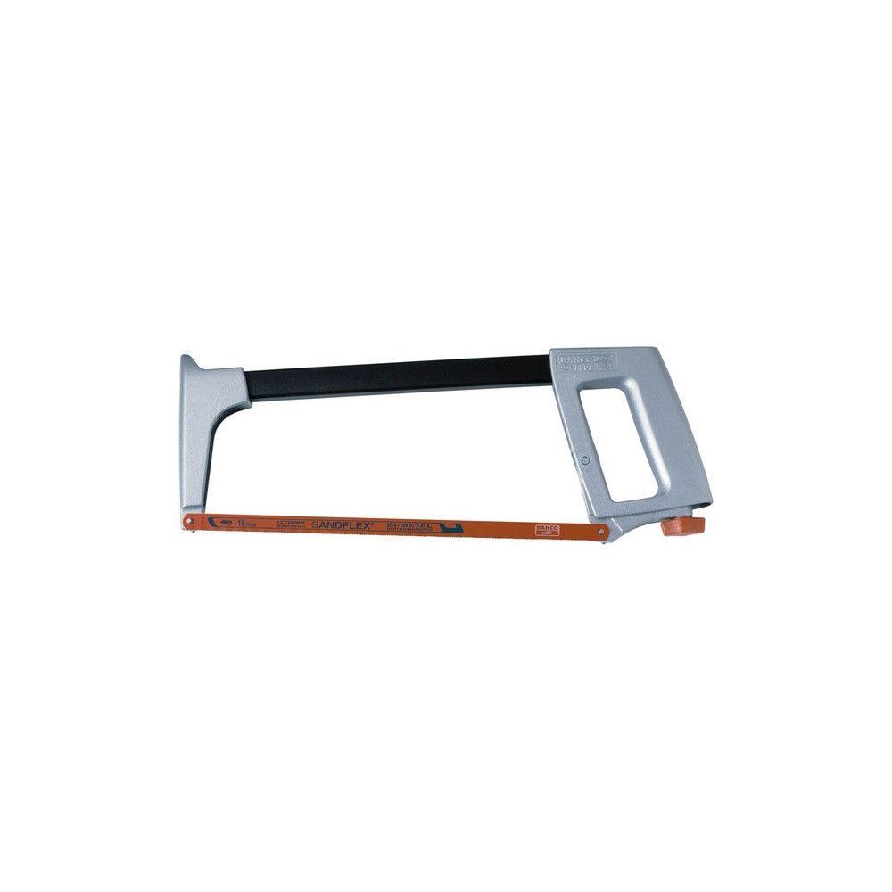 Bahco Monture de scie à métaux, en aluminium, Long. de la lame : 300 mm