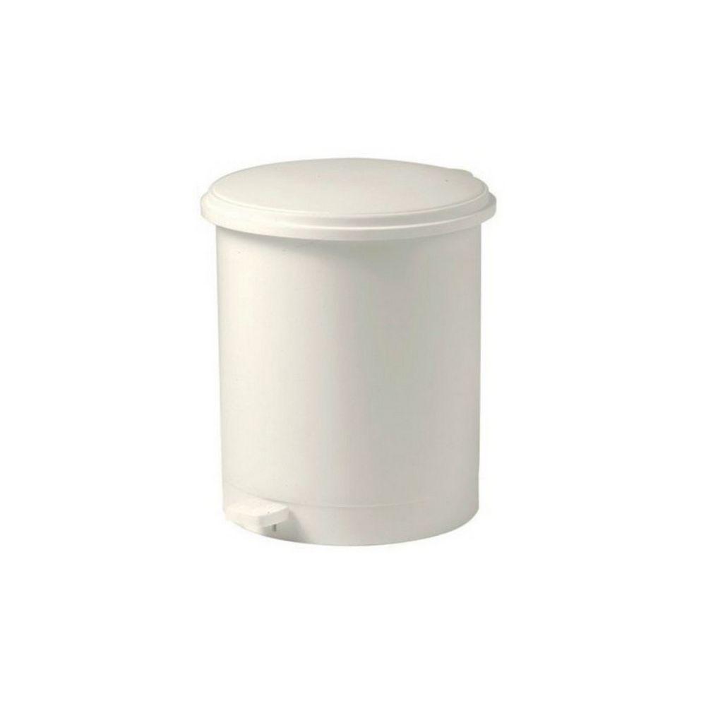 Eda eda - poubelle à pédale 16l blanc - 10604be.cr