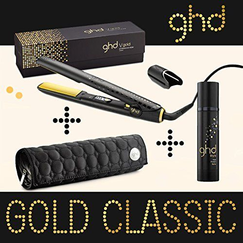 ghd - GHD - Fer à lisser Lisseur Styler gold ghd classic + pochette thermo résistante + spray thermo - Lisseur