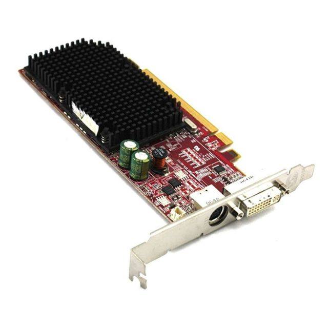 Ati - Carte Graphique ATI Radeon X1300 256Mo PCI-E DMS-59 S-Video 102A9240 0HJ513 - Carte Graphique AMD