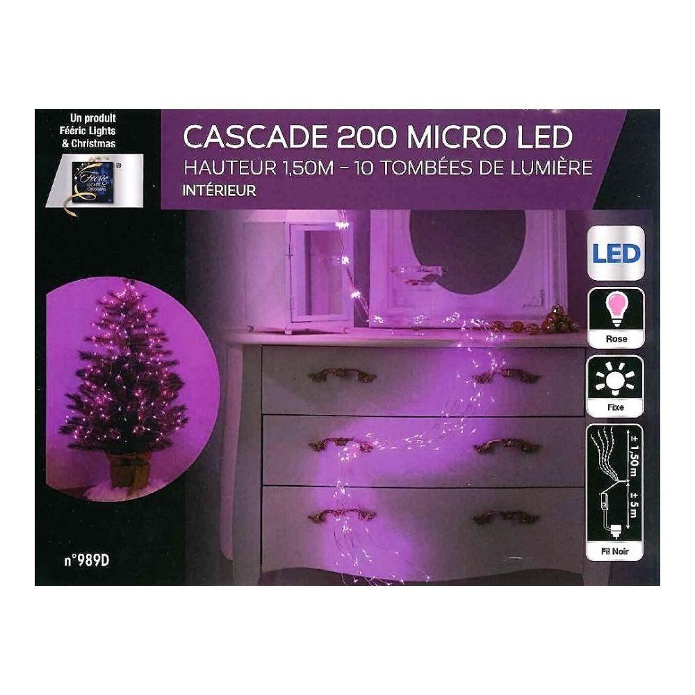 JJA Guirlande copper cascade 200 LED roses