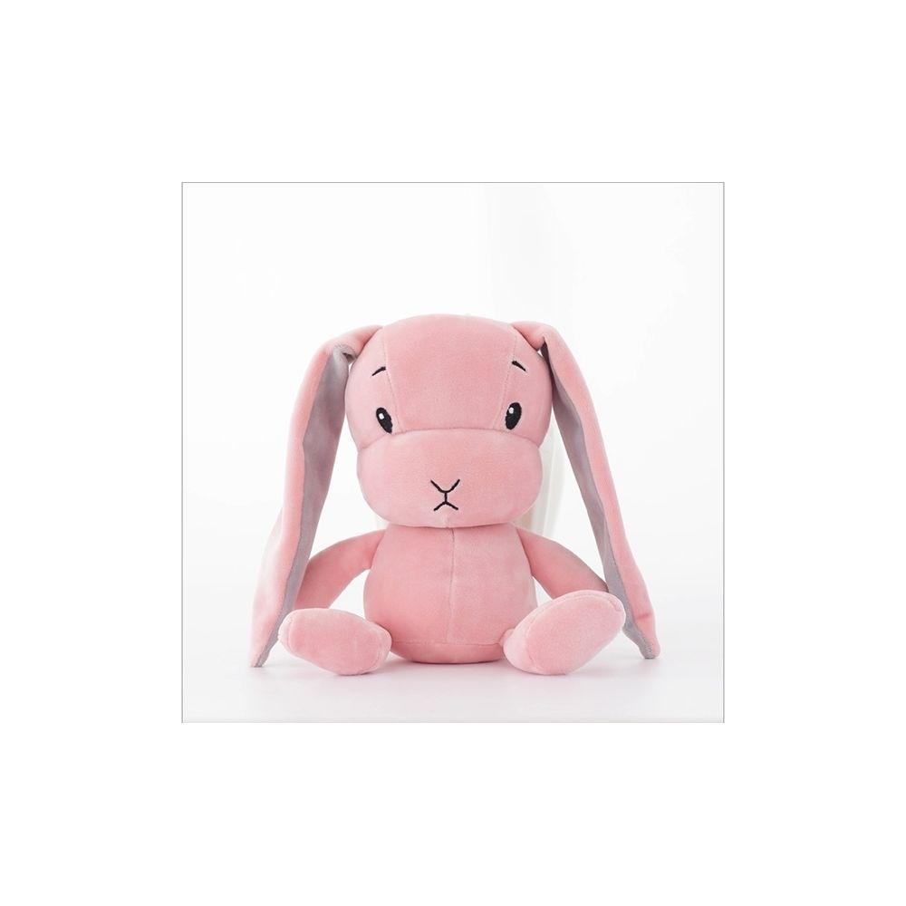Wewoo Restez mignon lapin en peluche poupée bébé sommeil jouethauteur 70cm rose