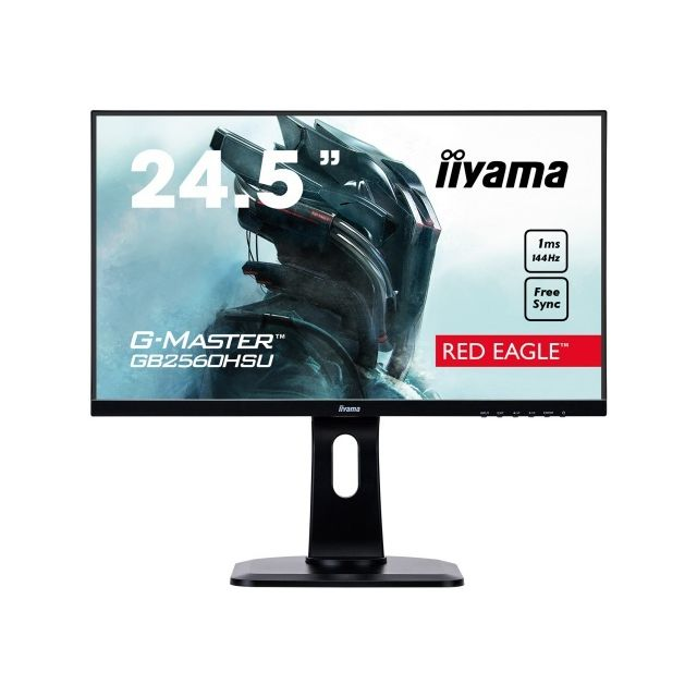 "Iiyama - 24,5"""" LED GB2560HSU-B1 - Moniteur PC Gamer"