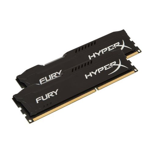 Kingston - HyperX Fury BLACK Series 8 Go (2 x 4 Go) - DDR3 1866 MHz Cas 10 - RAM HyperX