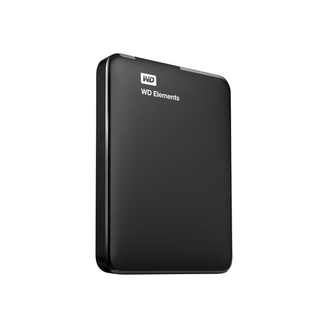 Western Digital - WD ELEMENTS 1 To - 2.5'' USB 3.0 - Cache 1 Mo - Noir - Disque Dur externe