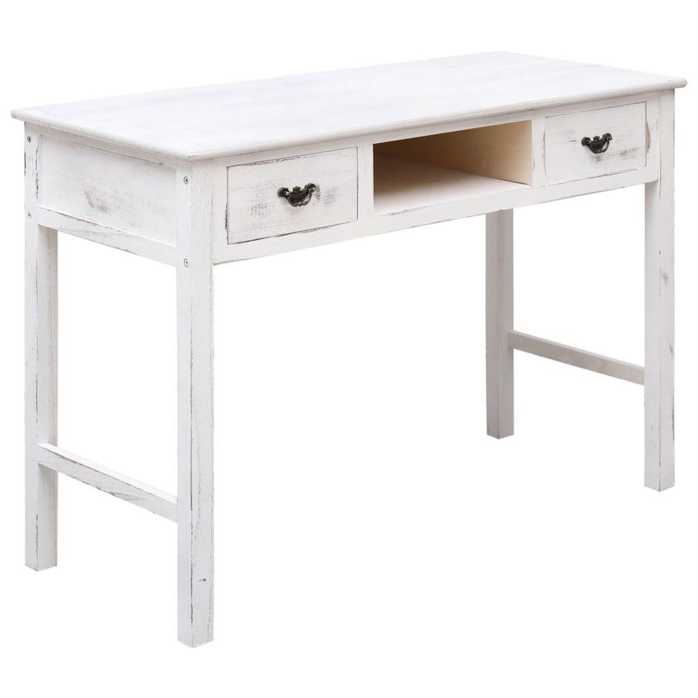 Uco UCO Table console Blanc antique 110 x 45 x 76 cm Bois